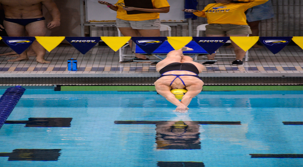 Swimming Opens Season: Falls to Penn State