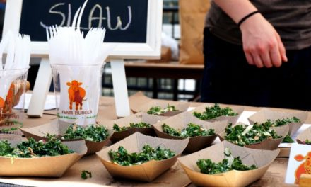 Students Become Teachers at Sustainable Food Fair