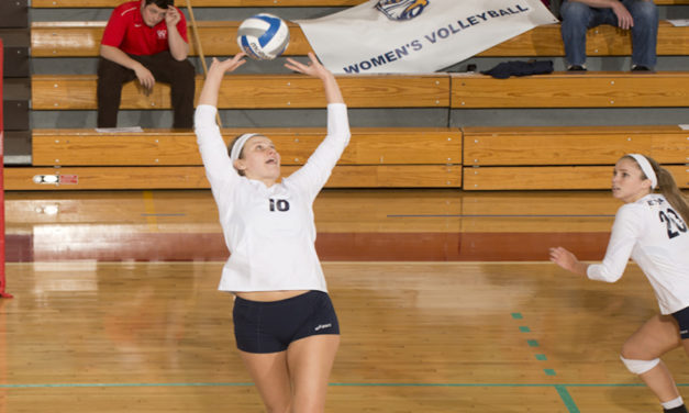 Volleyball Dominates UAA Round Robin II