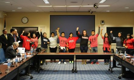 Emory Students Join in Protest at Board of Regents Meeting