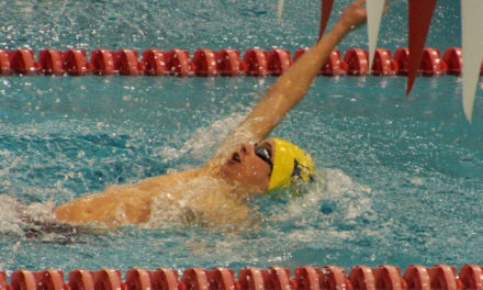 Swimming and Diving Team Challenges UGA