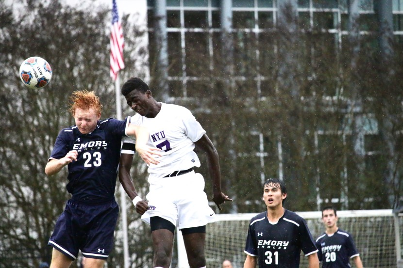 Men's Team Fall 1-0 To Both NYU, Brandeis