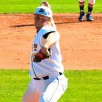 Junior pitcher Hans Hansen threw seven innings of shutout baseball during Emory's 5-0 win over Ferrum on Saturday. | Courtesy of Emory Athletics