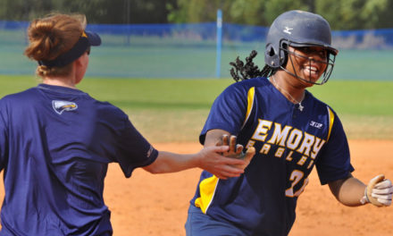 Softball Continues Undefeated Season with Two Wins