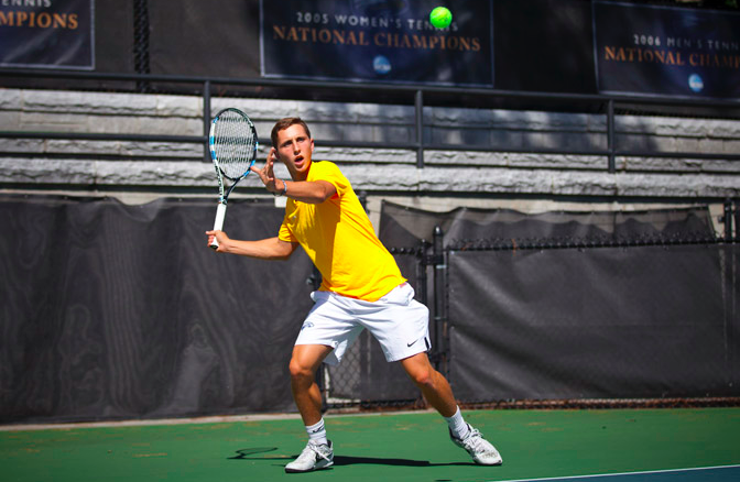 Men's Tennis win Stag-Hen Invitational