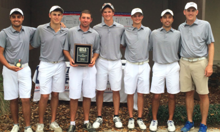Emory Golf defends UAA Title