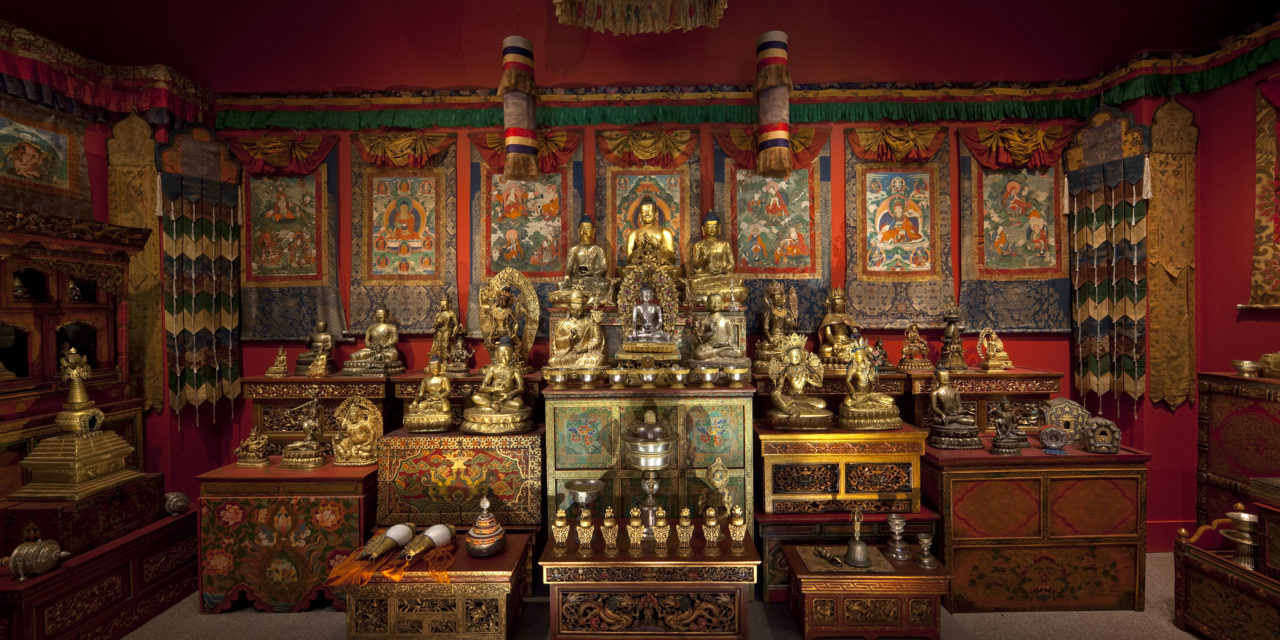 From Icons To Experience: Tibetan Iconography Beckons The Viewer Into An Enlightened World