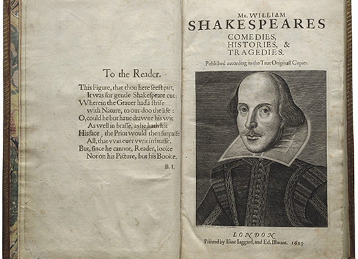 Emory to Host  Shakespeare's First Folio