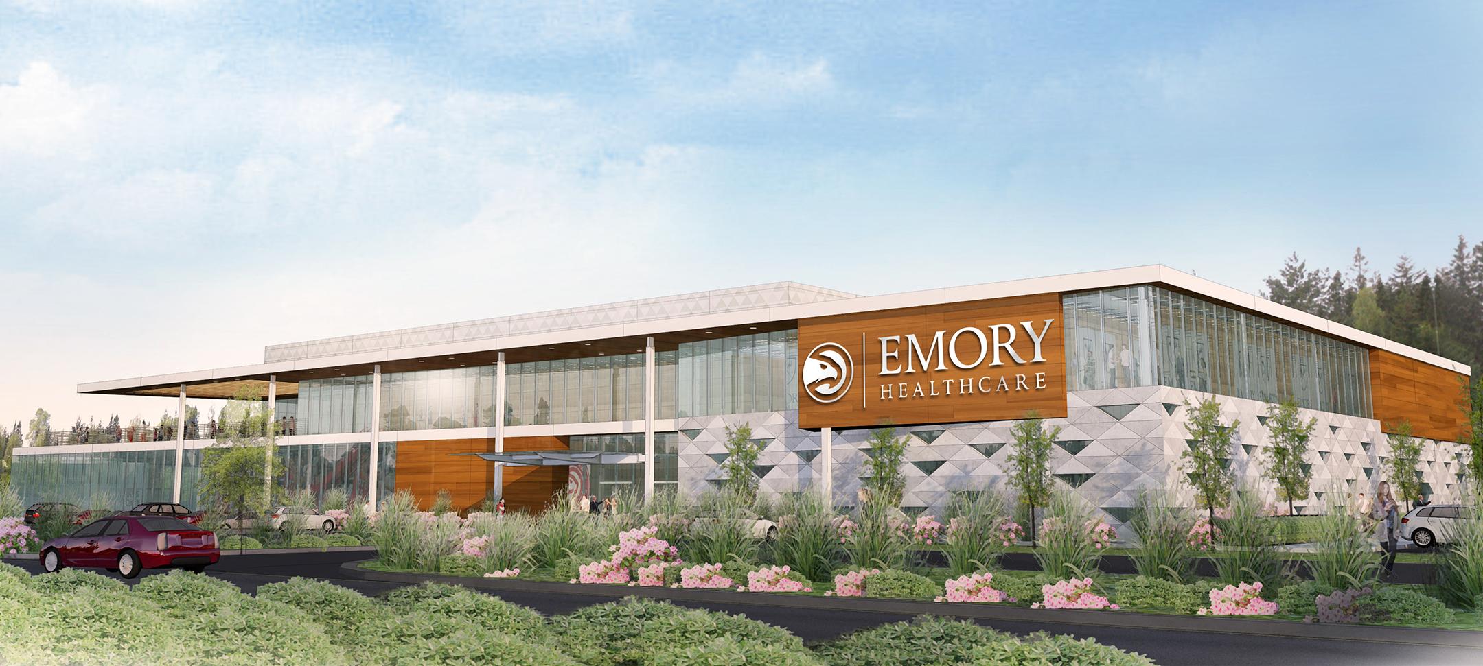 Emory, Atlanta Hawks Announce New Joint Sports Medicine Facility