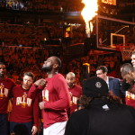 Lebron James player intro | Photo: Dustin Slade