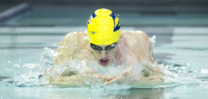 Andrew Wilson has the chance to do something no other Division-III swimmer has been able to do -- qualify for the Olympics.| Courtesy of Emory Athletics