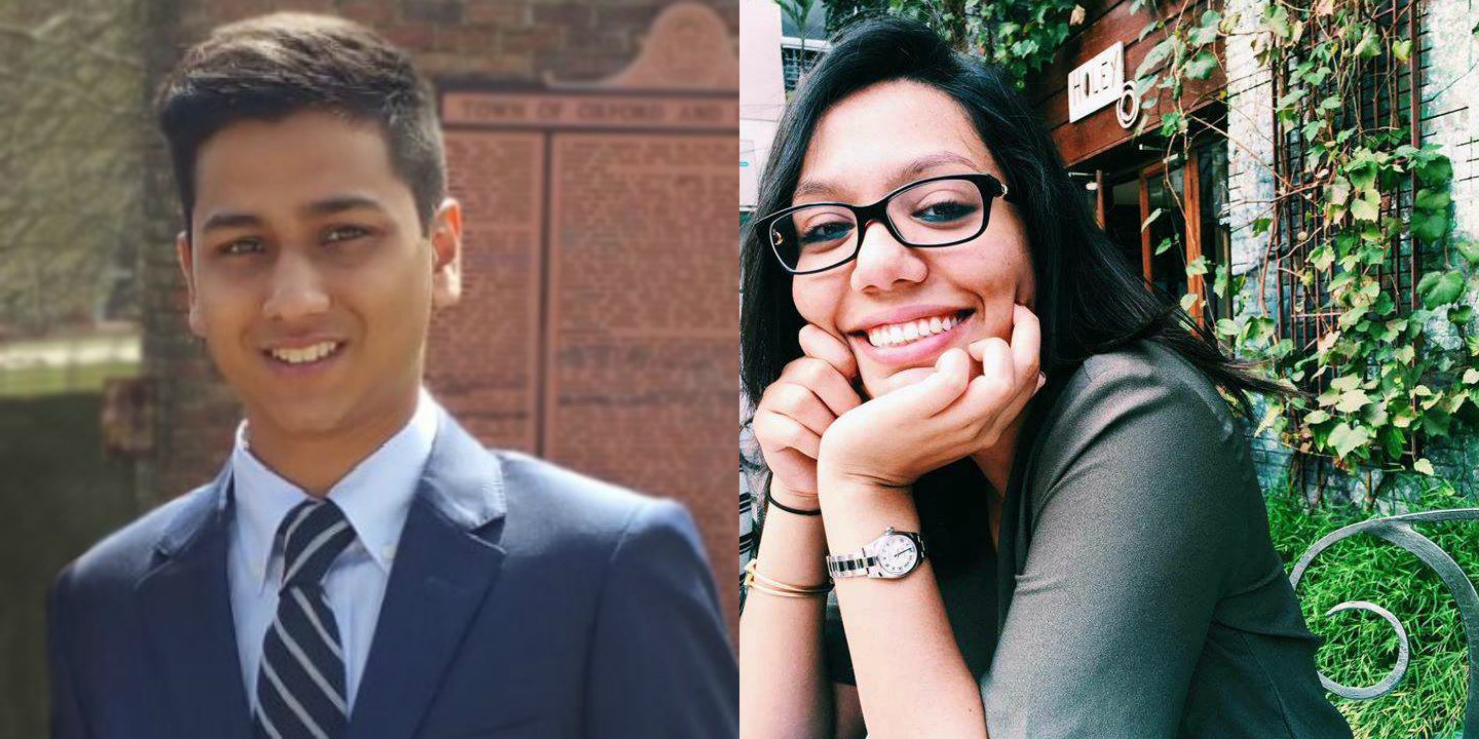 Rising Oxford College sophomore Abinta Kabir (left) and rising Goizueta Business School junior Faraaz Hossain (right) were taken hostage and killed in the Dhaka, Bangladesh, attack. / Courtesy of Facebook