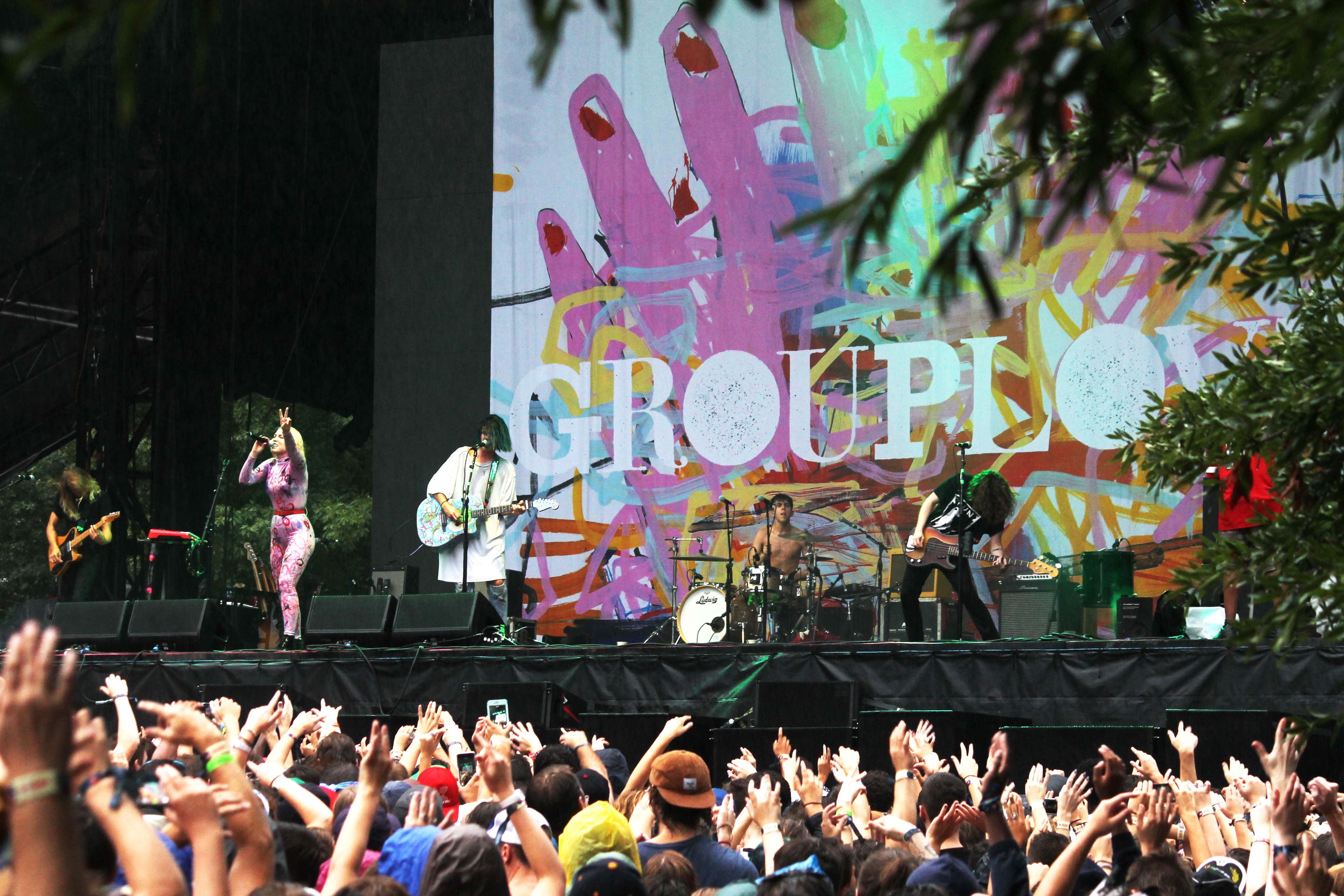 Weather Fails to Reign in Music Midtown