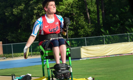 Professor Wins Silver, Bronze in Paralympics