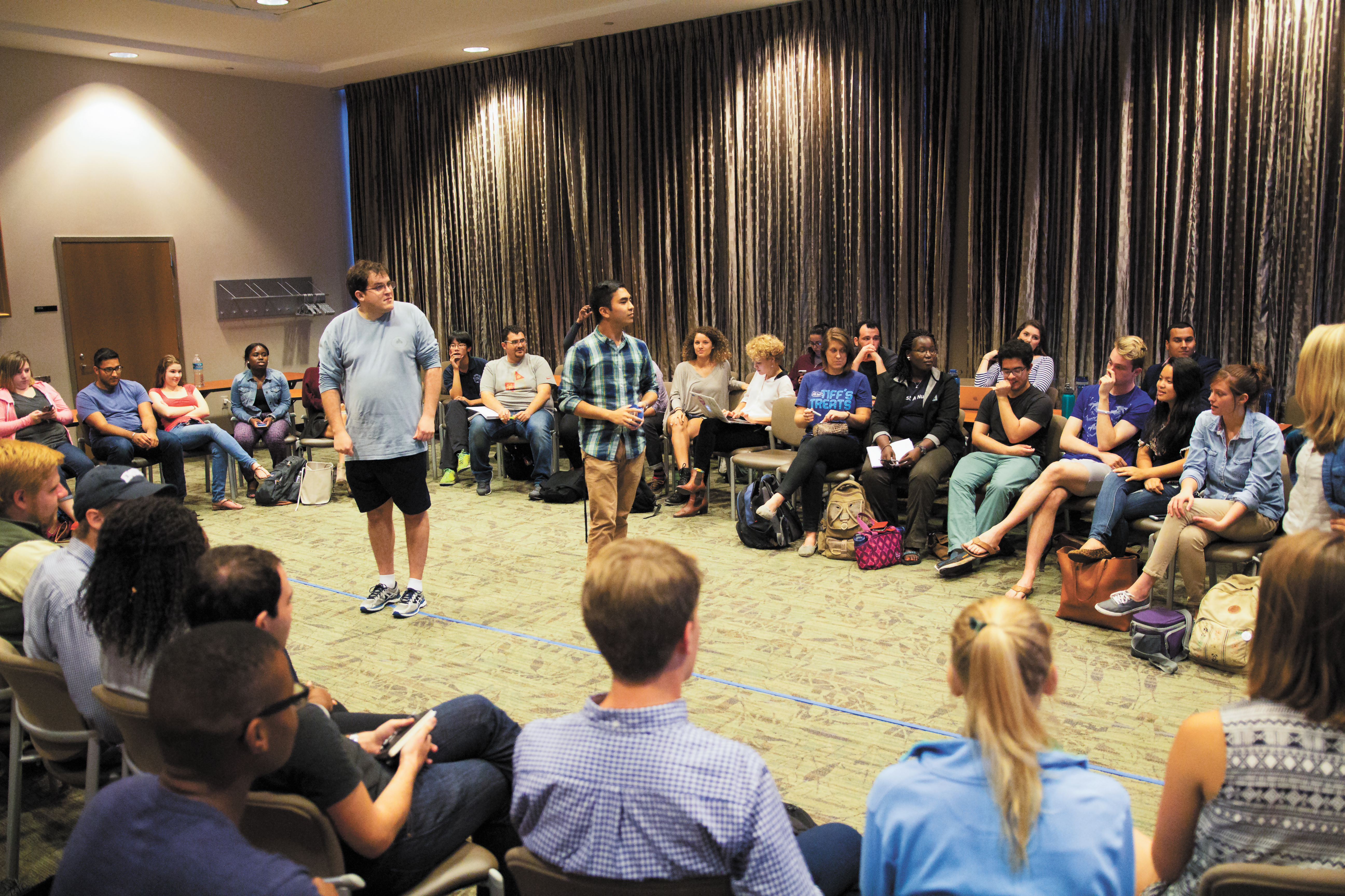 SGA Roundtable Addresses Lack of Graduate Student Voice