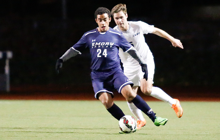 Freshman defender Jimmy Tricolli has proved to be a valuable asset late this season.  Photo Courtesy of Emory Athletics.