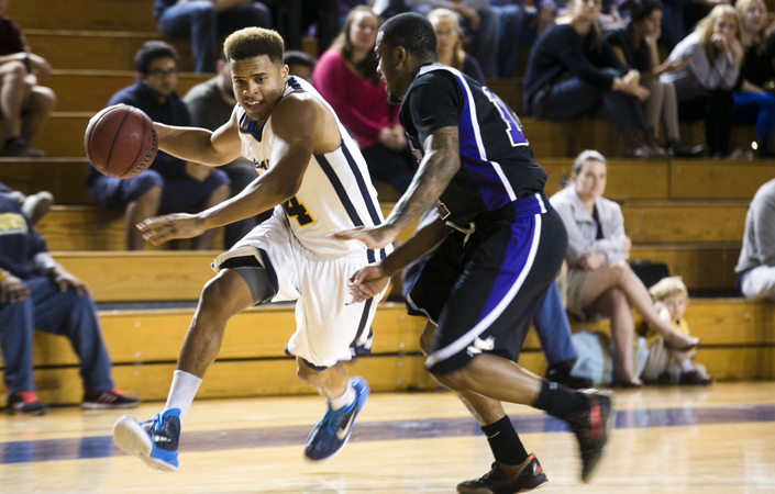 Men's Basketball Claws its Way to Two Wins at Guilford Invitational