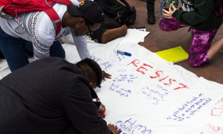 Students Show Fear, Hope After Immigration Exec. Order
