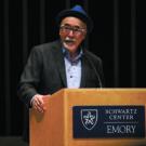 U.S. Poet Laureate Juan Felipe Herrera reads poetry at the Schwartz Center Feb. 19. / Christine Song, Staff