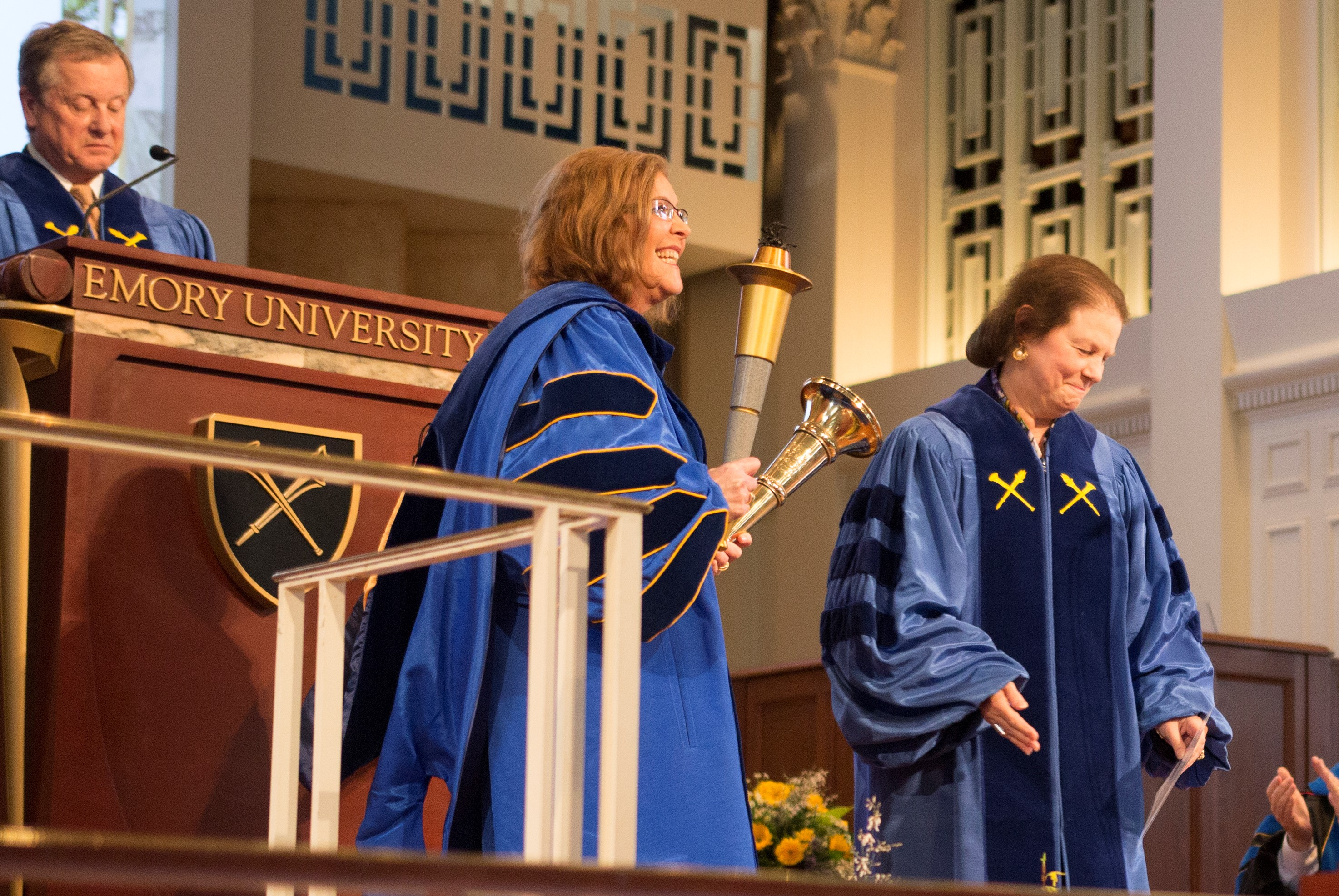 Sterk Commits to Inclusion, Global Engagement at Inauguration