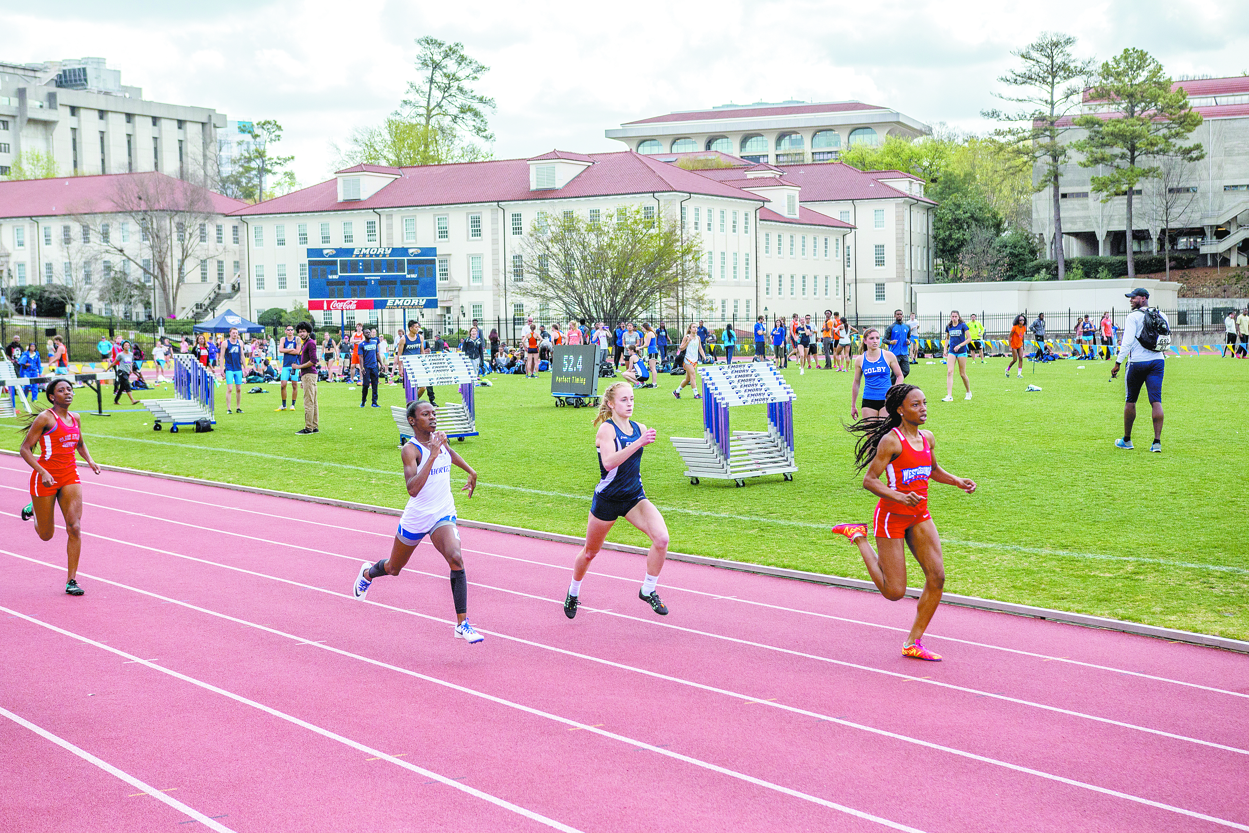 Track and Field Depth Shines at Home