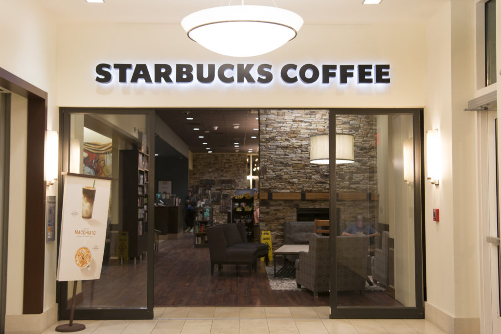 The Starbucks on Oxford Road will undergo renovations this summer to accommodate increased traffic from Kaldi's in the soon-to-be demolished Dobbs Univeristy Center (DUC)./Ruth Reyes, Photo Editor