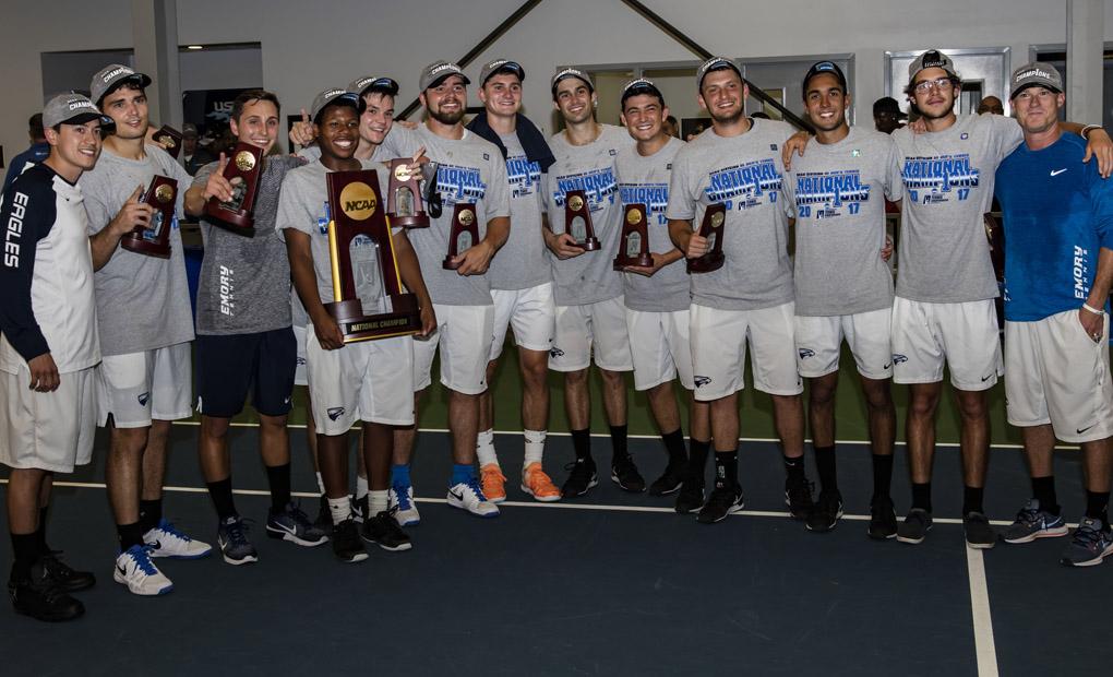 Men's Tennis Triumphs for Fourth National Championship