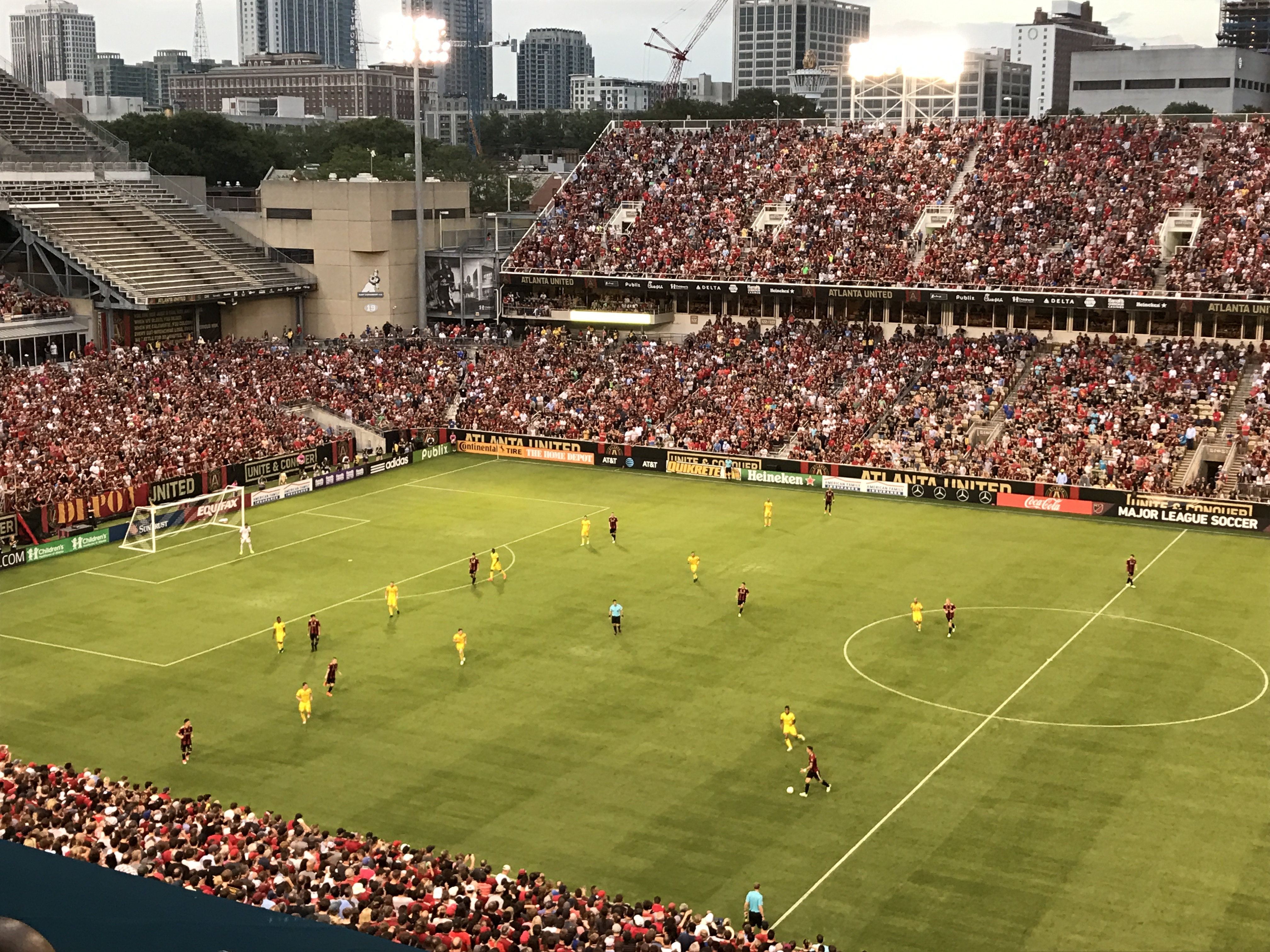United Attack, Conquer Columbus Crew
