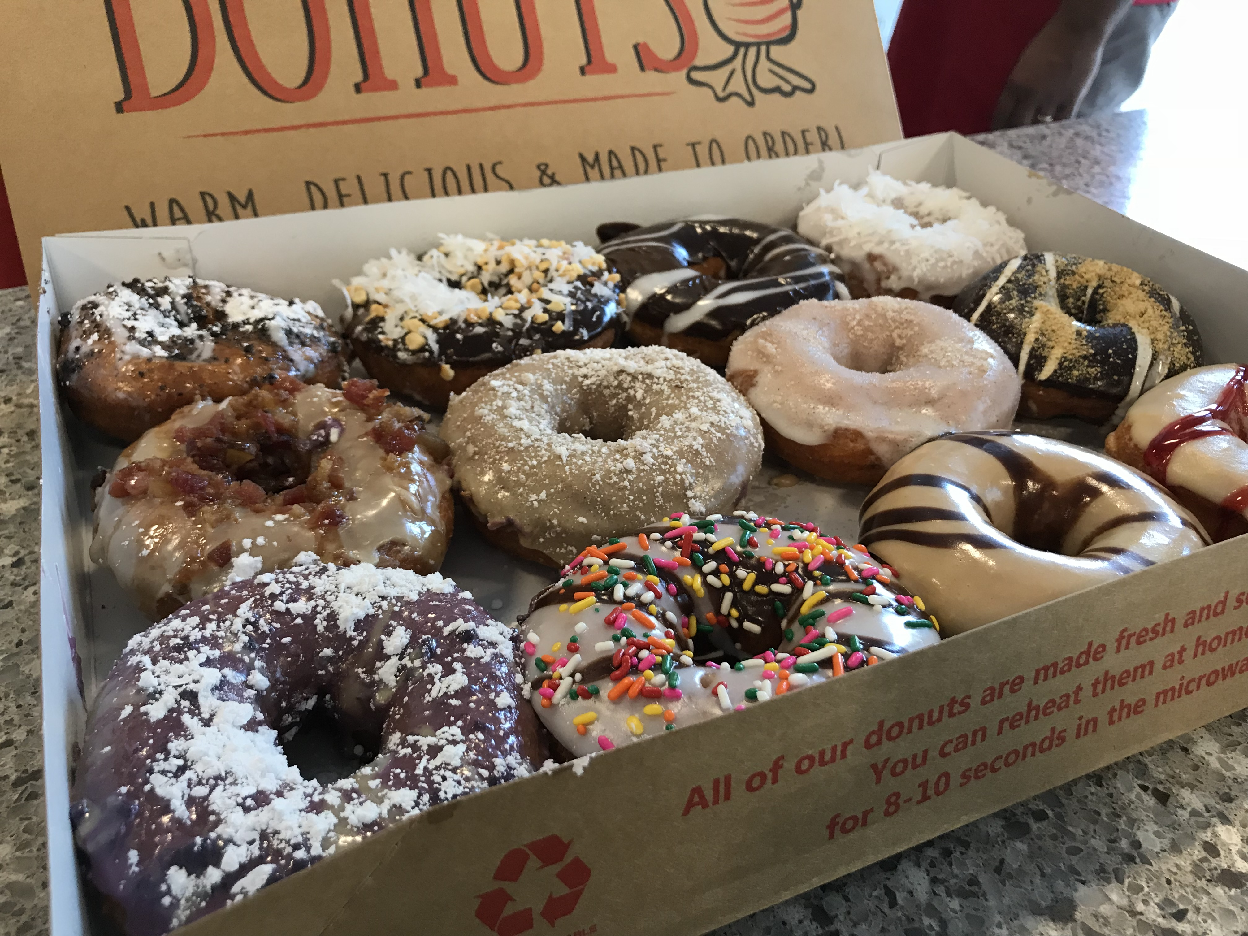 Duck Donuts Is A Hole In One The Emory Wheel