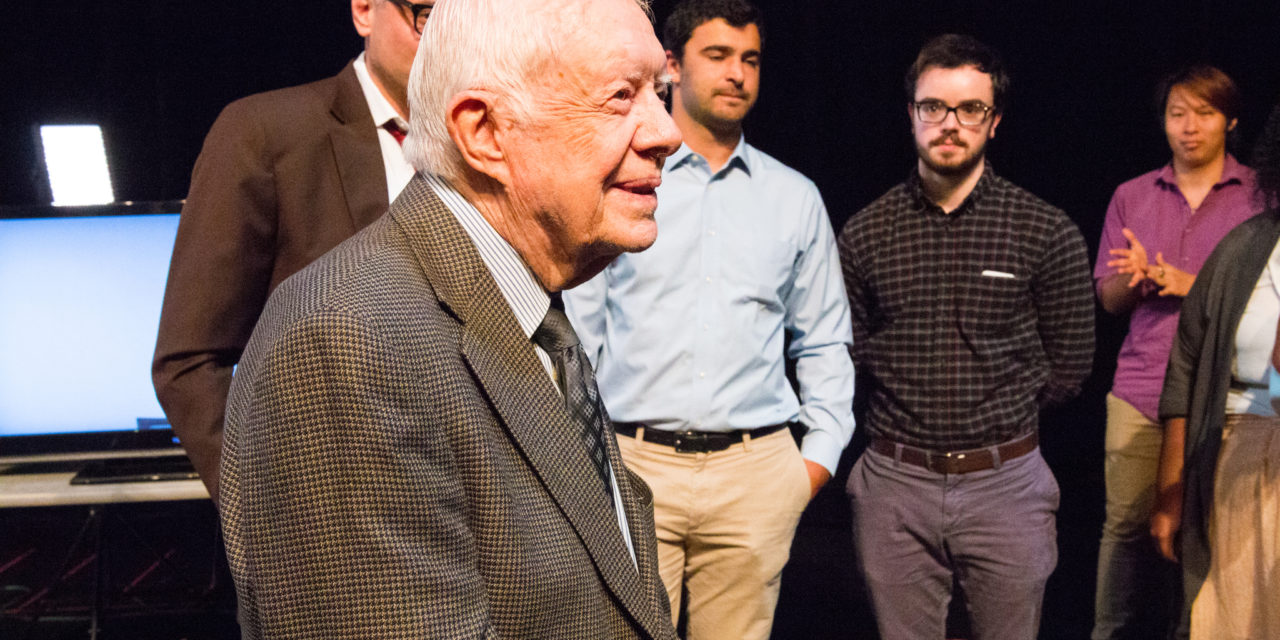 Jimmy Carter Awarded Tenure at Emory