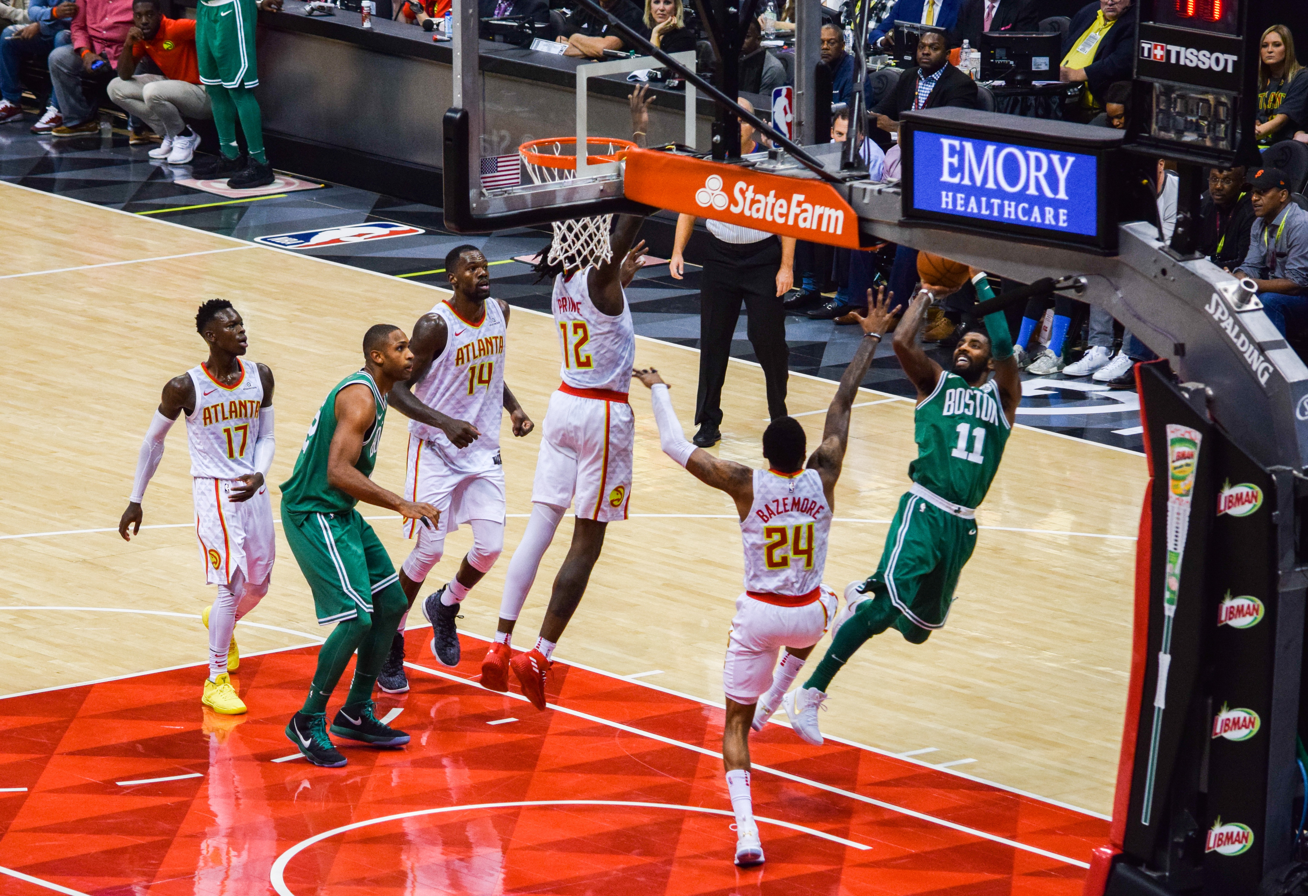 Kyrie Steals the Show as Celtics Claim Ninth Straight Win