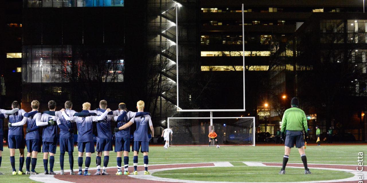Chicago Prevails in PK's, Ending Emory's Historic Season