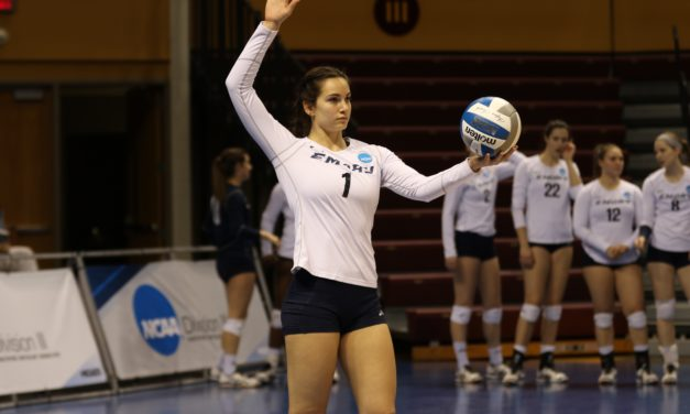 Ithaca Wins Final Three Sets to Spoil Eagles' NCAA Run in Quarterfinals