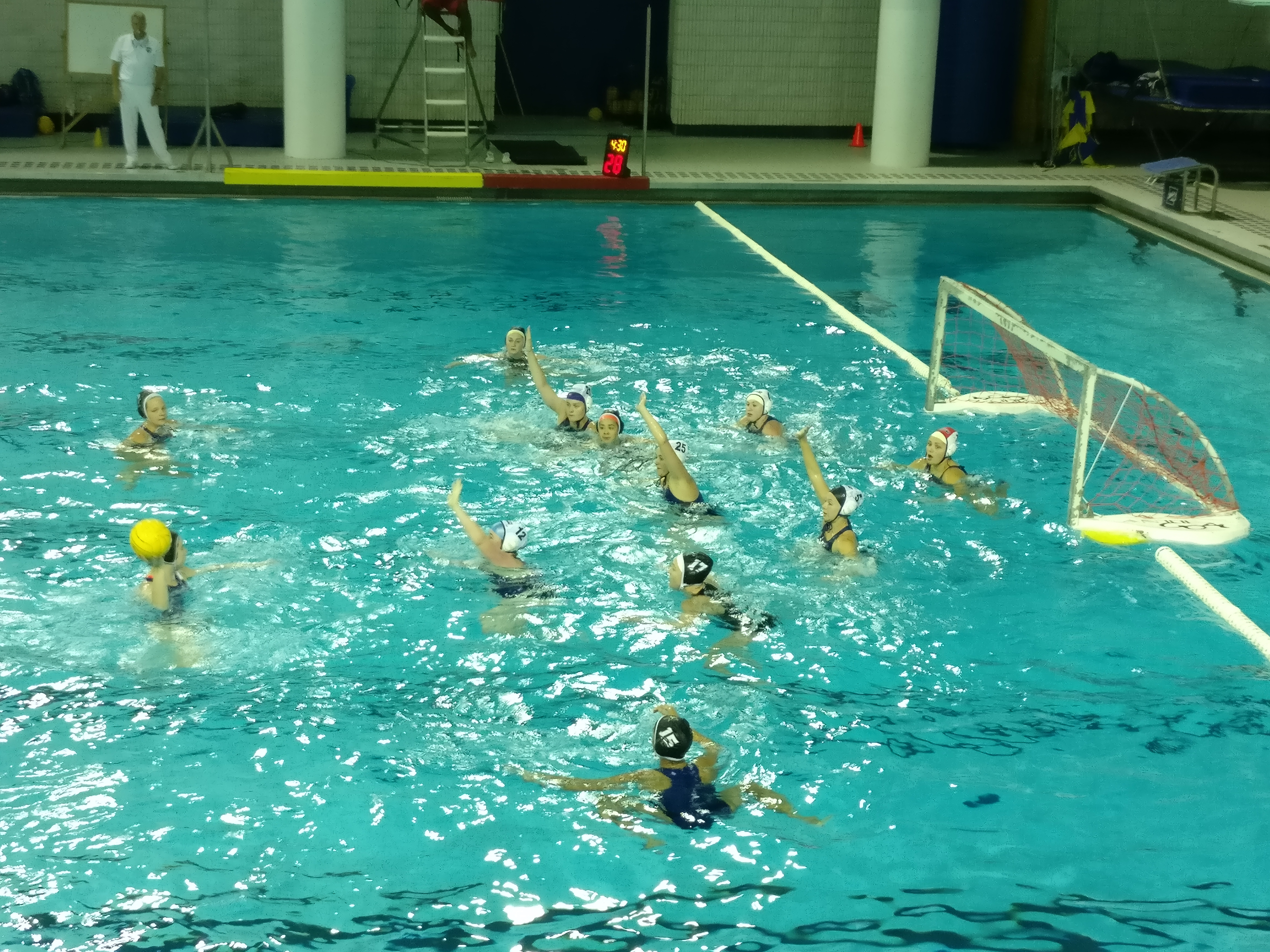 From Movie Nights to Practices, Women's Water Polo Bonds