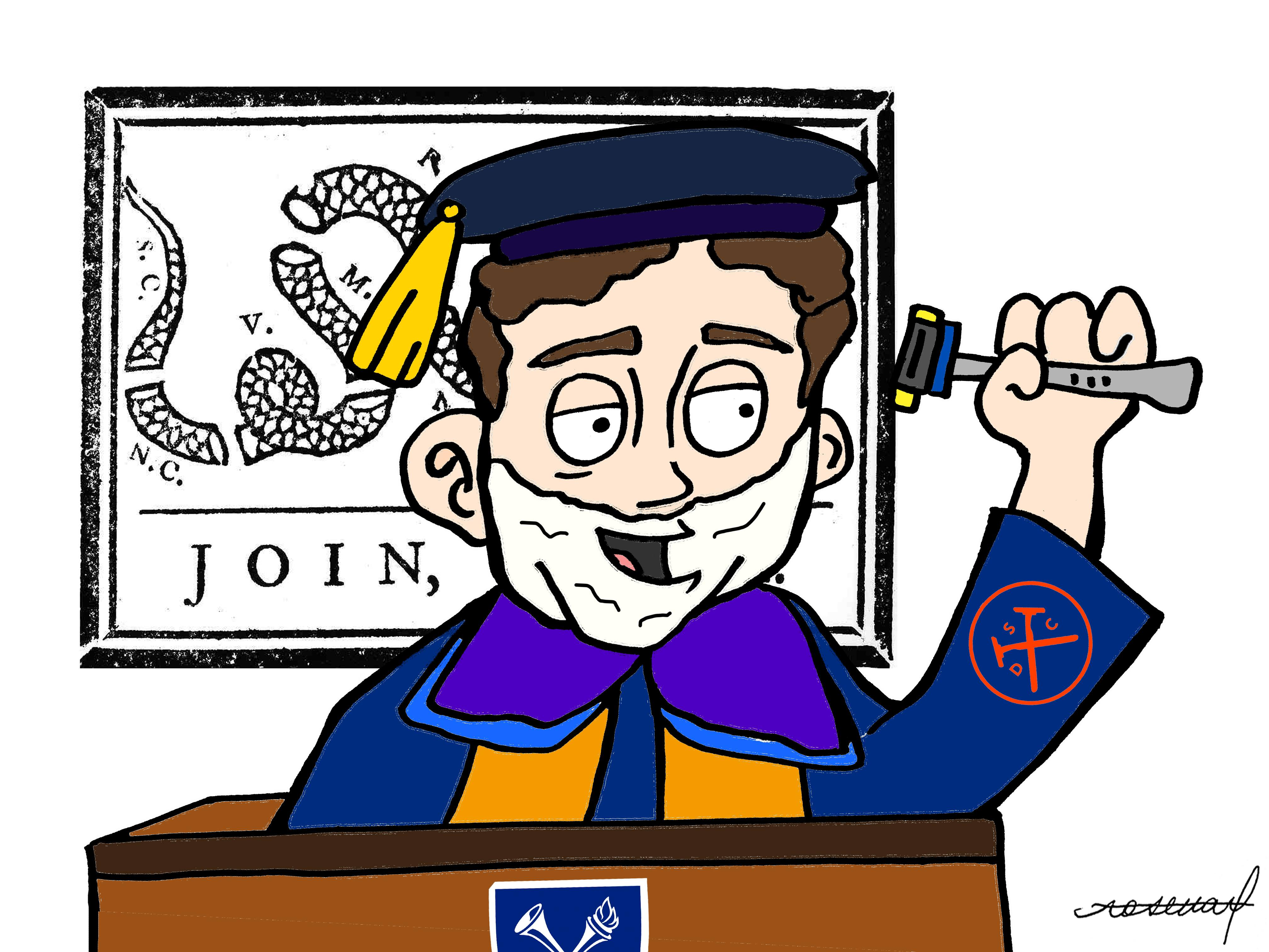 Cartoon: Dollar Shave Founder Chosen as Commencement Speaker