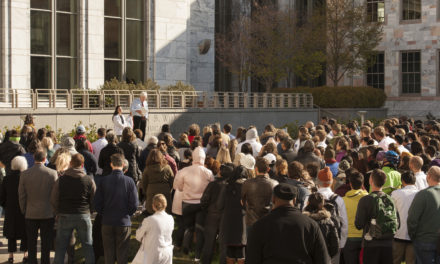 Emory Community Members Join National Walkouts for Stricter Gun Control