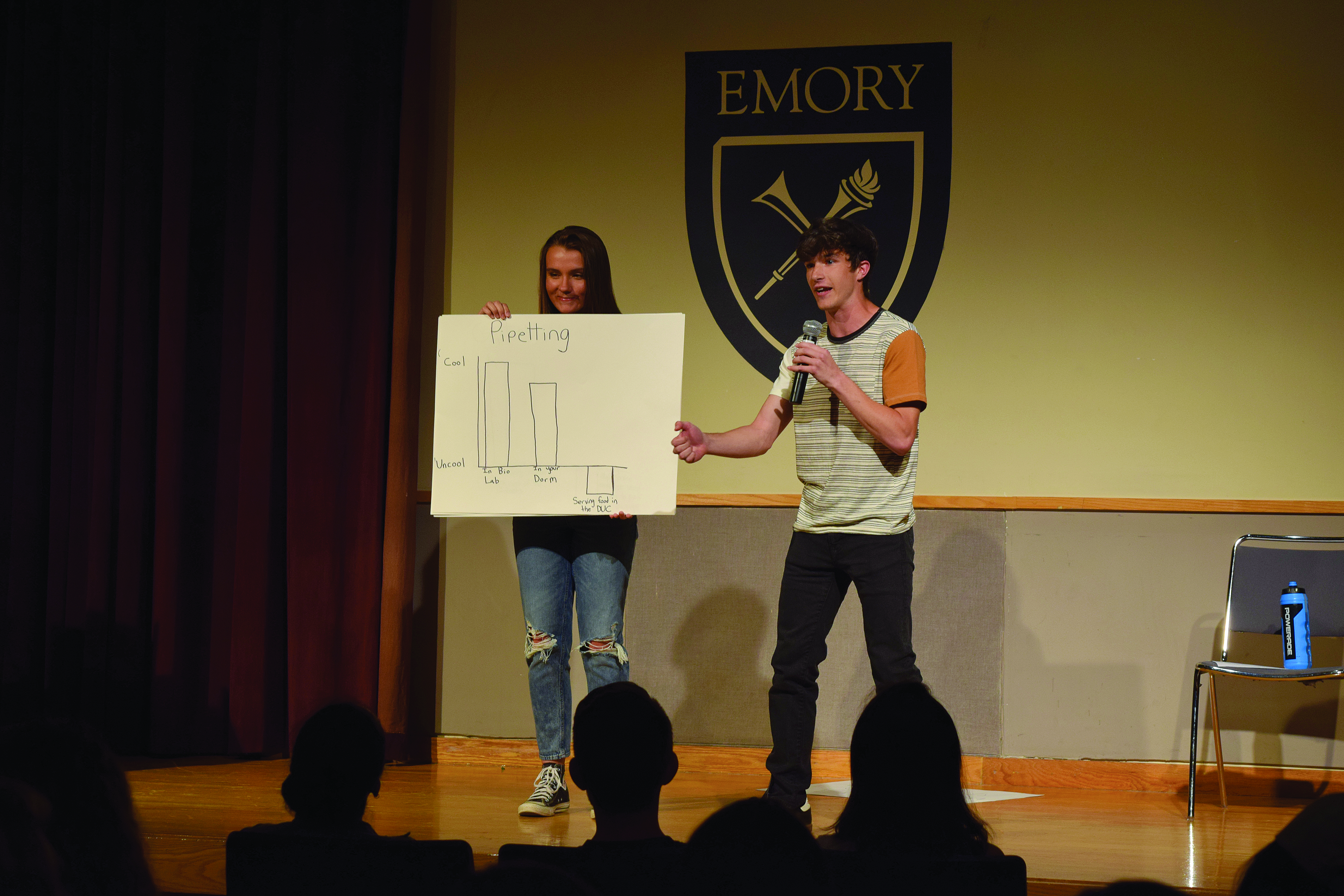 Well Spoke-n: Emory Comedians Take the Stage