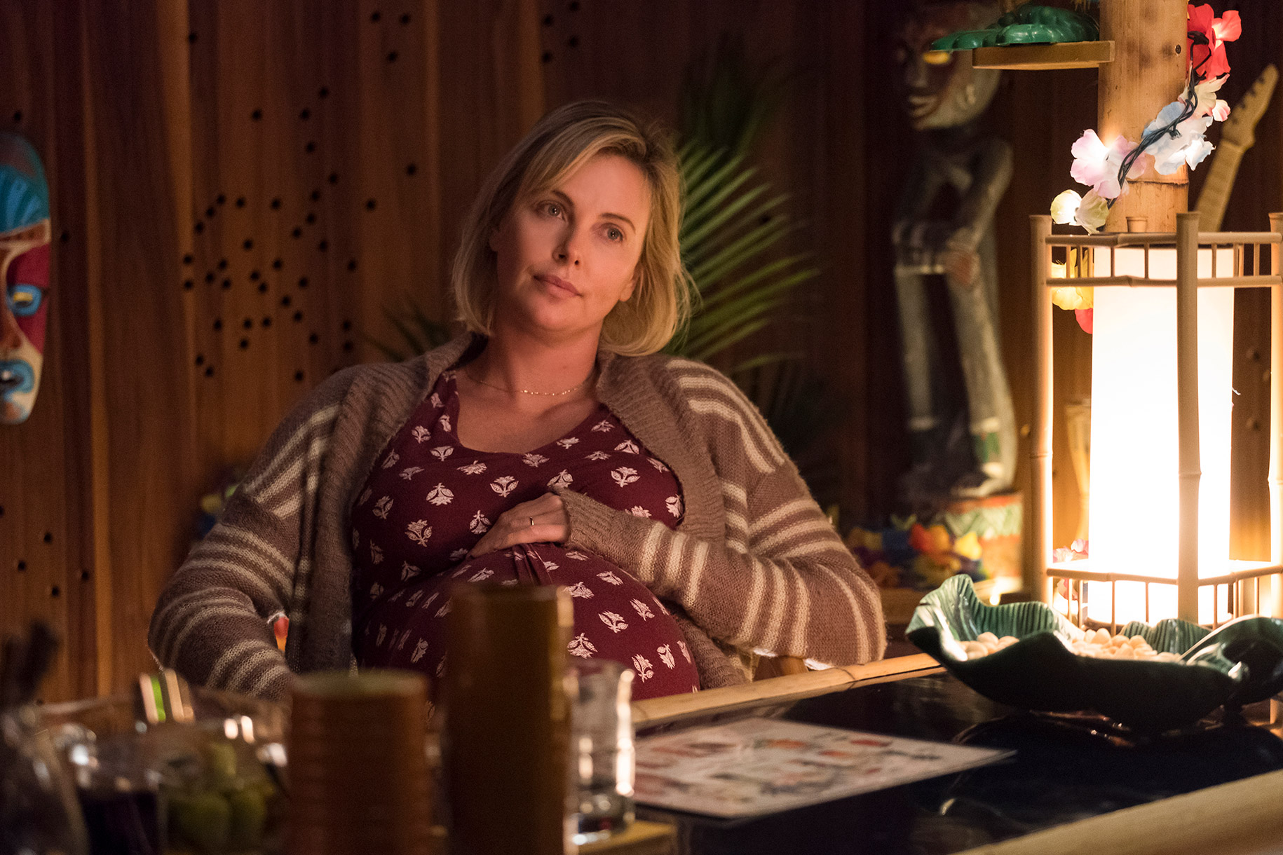 Theron Tackles Motherhood in Uneven 'Tully'