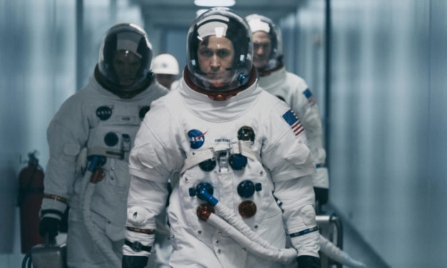 'First Man' Solid, Less Than Stellar
