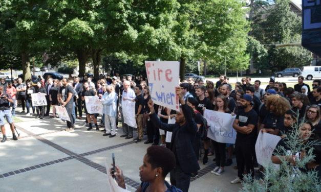 Emory Law Community Members Unite After Racial Slur Incident