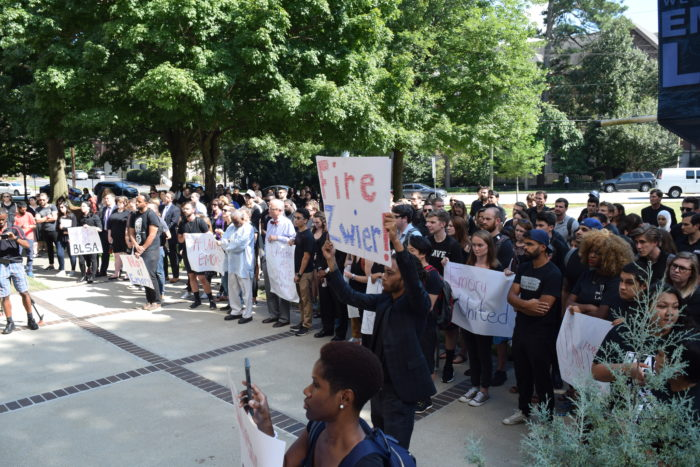 Emory Law Community Members Unite After Racial Slur Incident