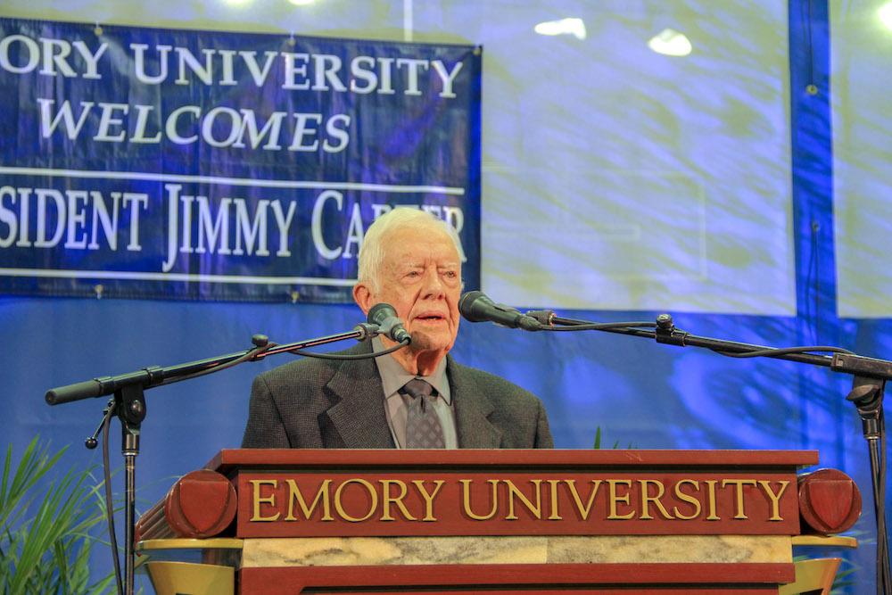 Former U.S. President Jimmy Carter Undergoes Surgery at Emory University Hospital