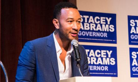 John Legend Urges Students to Turn Georgia Blue