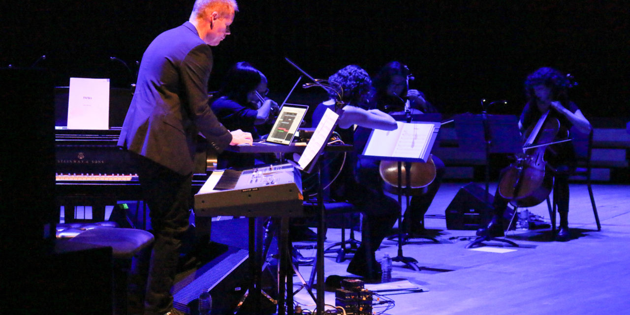 Max Richter and ACME a Successful Opening to the 2018-2019 Concert Series
