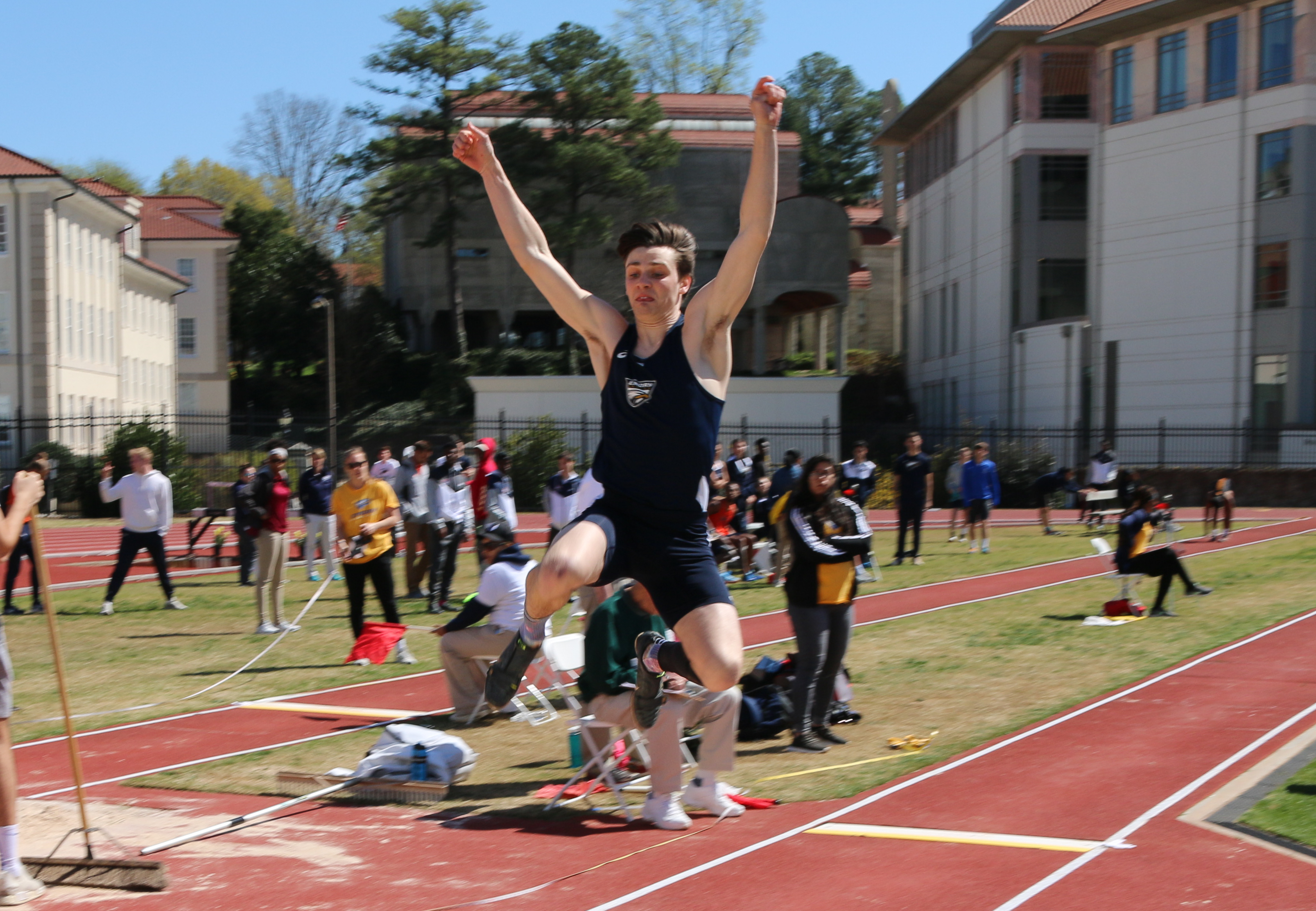Track and Field Tops Hilltop Classic Competition, Baseball Splits Monday Matinee Doubleheader
