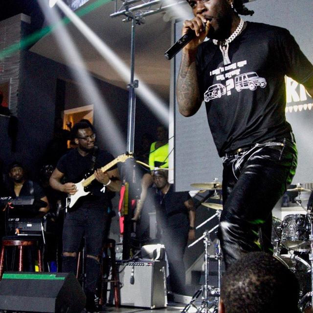 """Burna Boy Brings His """"African Giant"""" Energy to Atlanta"""