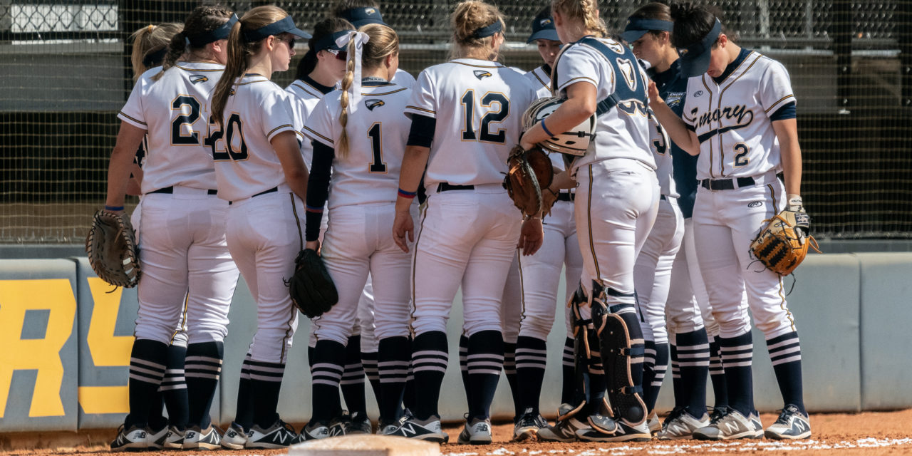 Softball Dominates in Four-Game Sweep