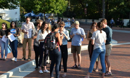 Emory Students and Faculty Hold Vigil for El Paso victims