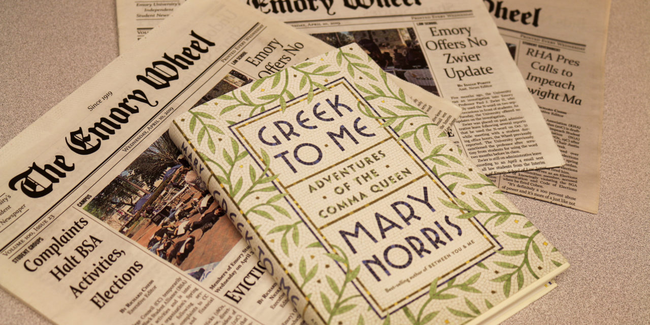 Retired New Yorker Editor Talks 'Greek to Me'