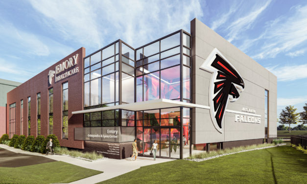 Emory Healthcare and Falcons Break Ground on Orthopedics and Sports Medicine Facility
